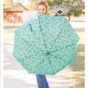 Crazy Train Cactus Umbrella